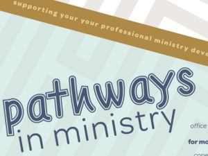 Pathways in Ministry: Compensation and Taxes