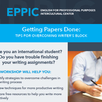 Getting Papers Done: Tips for Overcoming Writer's Block