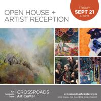 September 2018 Open House + Artist Reception