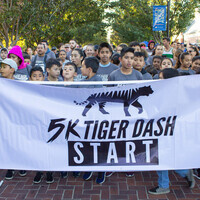 5K Tiger Dash and 1/2- Mile Club Run