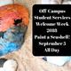 Off-Campus Student Services Welcome Week 2018- Paint a Seashell!