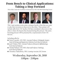 From Bench to Clinical Applications: Taking a Step Forward