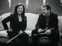 Guest Recital: A/B Duo with Meerenai Shim, flute and Christopher G. Jones, percussion