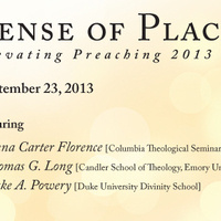 Elevating Preaching 2013: Sense of Place