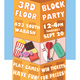 3rd Floor Block Party