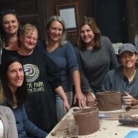 Friends Night Out at Earth Center Pottery
