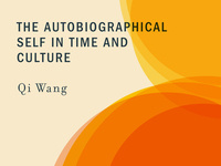 Book Talk: The Autobiographical Self in Time and Culture