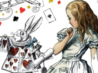 Magic, Mystery & Math:  Alice in the Garden