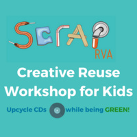 Free Creative Reuse Workshop for Kids ages 5-12
