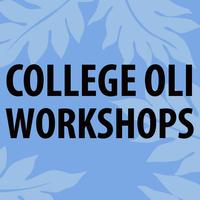Oli Workshop Fall 2018 Series