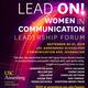 Lead On! Women in Communication Leadership Forum