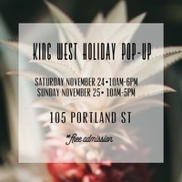 King West Holiday Pop-Up