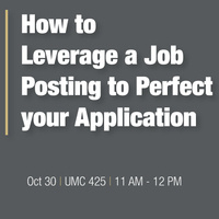 How to Leverage a Job Posting to Perfect Your Application