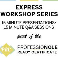 Professional Communication: PRC Express Workshop