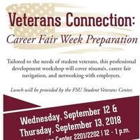 Veterans Connection: Career Fair Week Preparation
