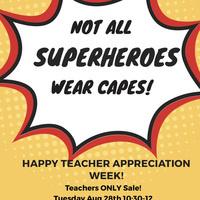 Teacher Discount Day