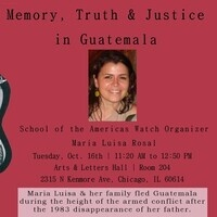 Memory, Truth & Justice in Guatemala