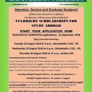 Fulbright Scholarships for Study Abroad