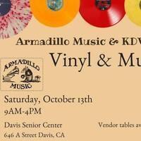 Armadillo Music & KDVS 90.3FM Vinyl & Music Fair