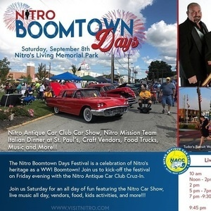 Nitro Boomtown Days Charleston WV Events - Charleston car show calendar