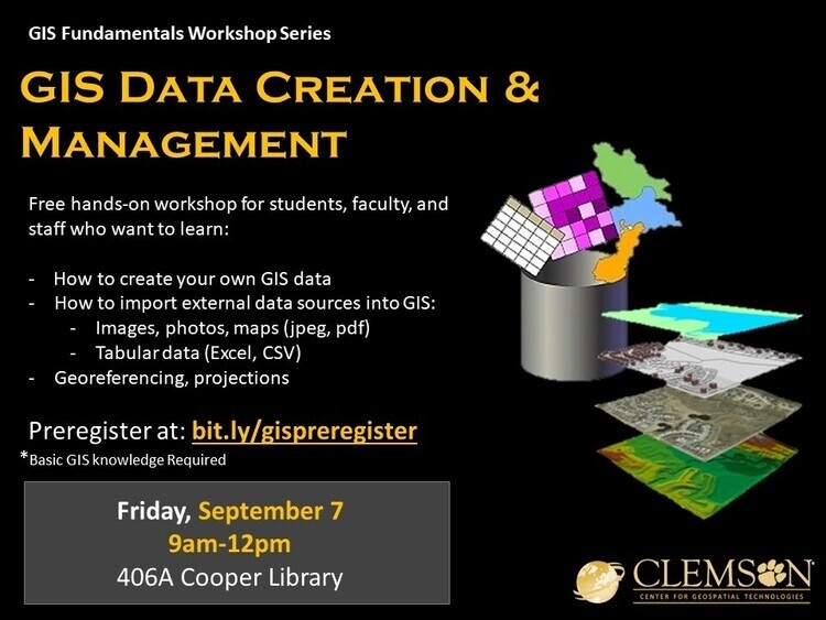 GIS Data Creation and Management Workshop