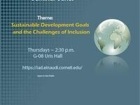 Institute for African Development Seminar Series