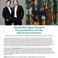 "Classically Cuban Concert ""The Essential Music of Cuba"""