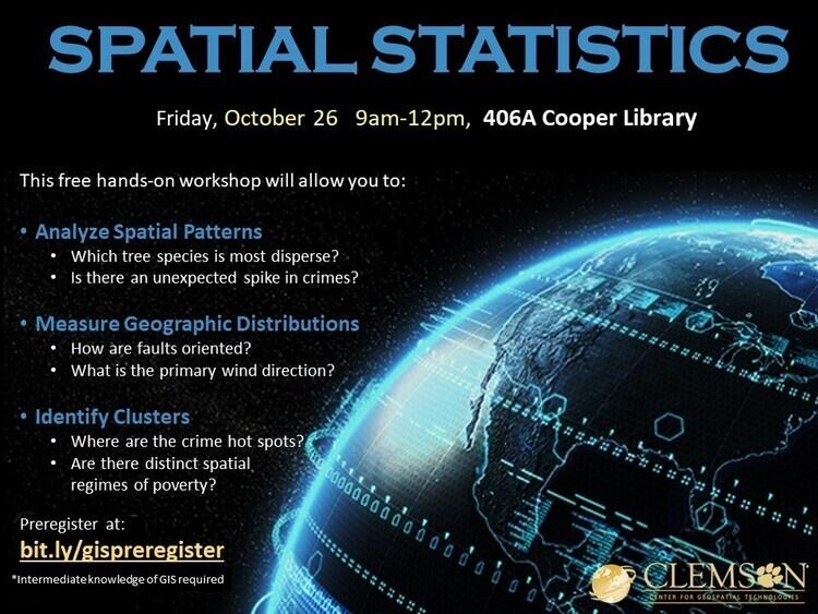 Basic Spatial Statistics Workshop