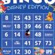 Bingo - Disney Edition