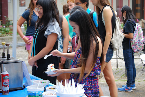 MIT Libraries Ice Cream Social