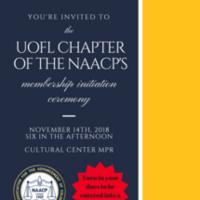 NAACP Membership Initiation Ceremony