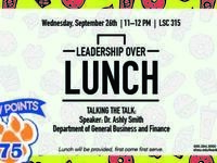Leadership Over Lunch: Talking the Talk