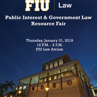 2019 Public Interest & Government Law Resource Fair