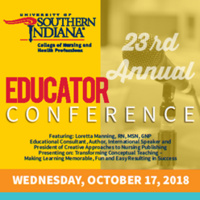 23rd Annual Nursing and Health Professions Educator Conference