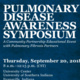 Pulmonary Disease Awareness Symposium