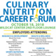 Providence Campus - Culinary Nutrition Career Forum