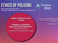 """""""Soldiers and Police: Why Are They Different?"""""""