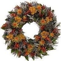 Fall Wreath Design Class by Strelitzia Flower Company