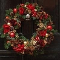 Holiday Wreath Design Class by Strelitzia Flower Company