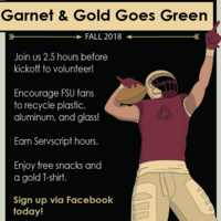 Garnet and Gold Goes Green- Virginia Tech