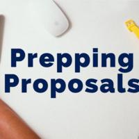 Engaged Scholars Workshop: Prepping Proposals