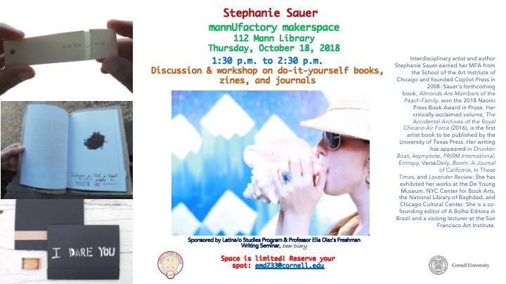 Stephanie Sauer, Artist & Author
