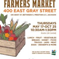 Gray Street Farmer's Market