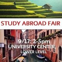 Fall 2018 Study Abroad Fair