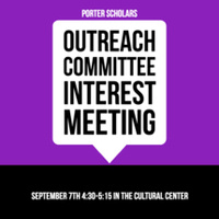 Outreach Committee Interest Meeting