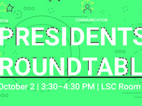 Student Organization Presidents Roundtable