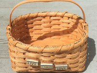 Basket Weaving Classes – First Basket