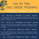CASE Career Workshops: CALLING ALL JUNIORS!