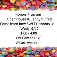 Honors Program Open House & Candy Buffet