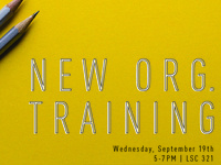 New Organization Training